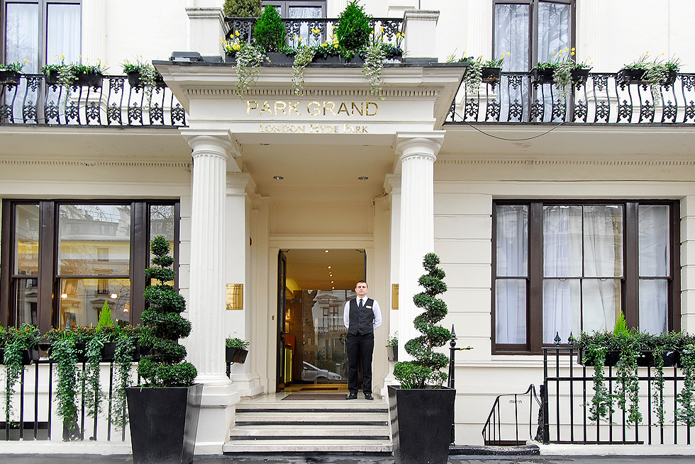 Park grand london hyde park 4 star hotel boutique hotel for Boutique hotel uk