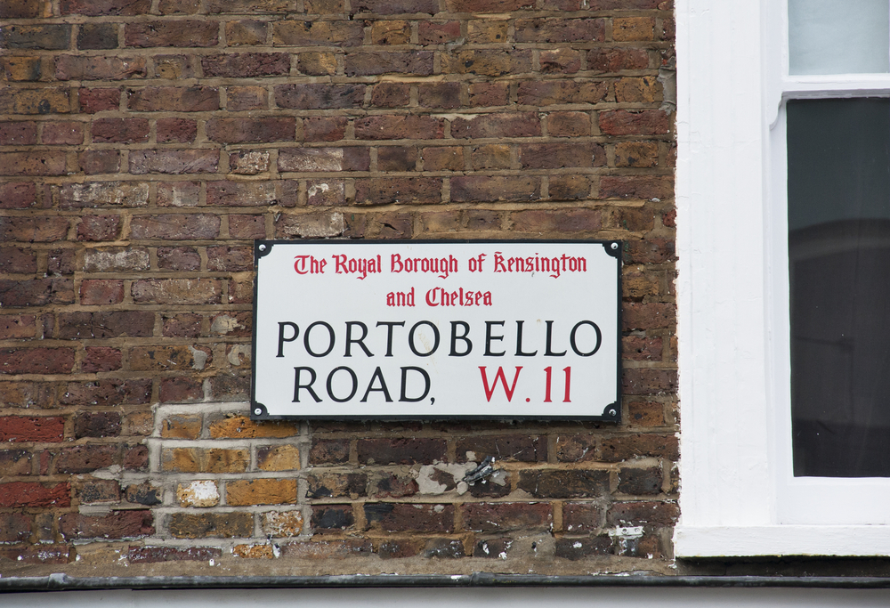 Portobello Road Market - Notting Hill Neighbourhood