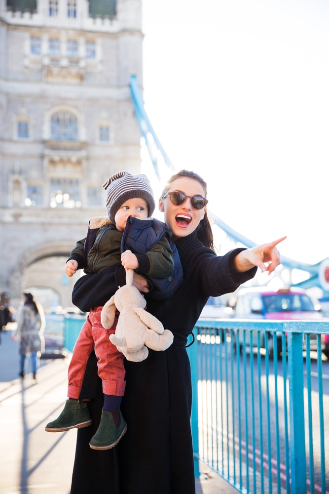 Travelling in London with a Baby