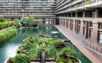 Barbican Center in London