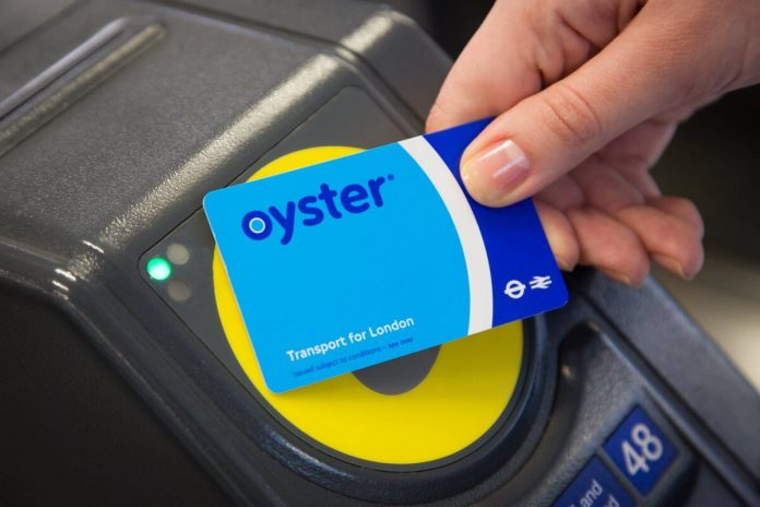OYSTER CARDS London